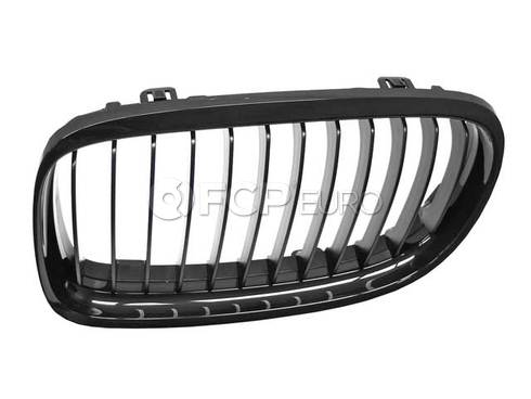 BMW Front Trim Grille Black Left (M Performance) - Genuine BMW 51712146911