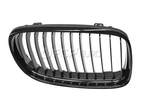 BMW Front Trim Grille Black Right (M Performance) - Genuine BMW 51712146912