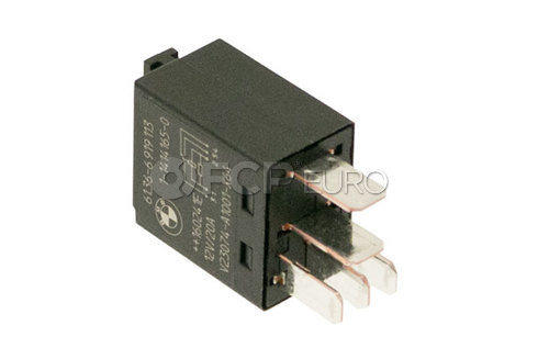 BMW Relay Change-Over Contact Black - Genuine BMW 61316919113