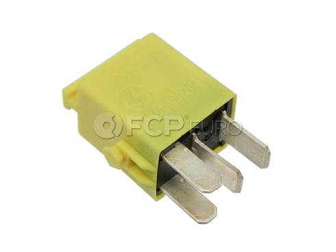 BMW Minirelay Make Contact Yellow - Genuine BMW 61366902041