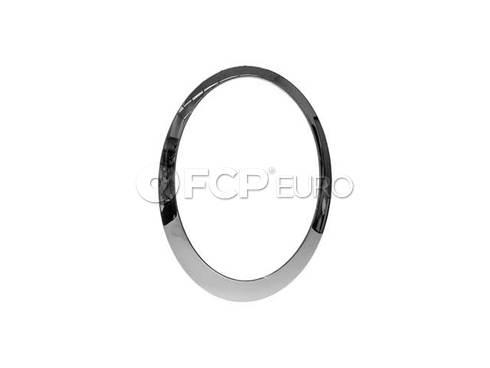 Mini Cooper Chrome Ring Left Headlight - Genuine Mini 63126917835