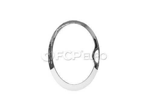 Mini Cooper Chrome Ring Left Headlight - Genuine Mini 63126917837