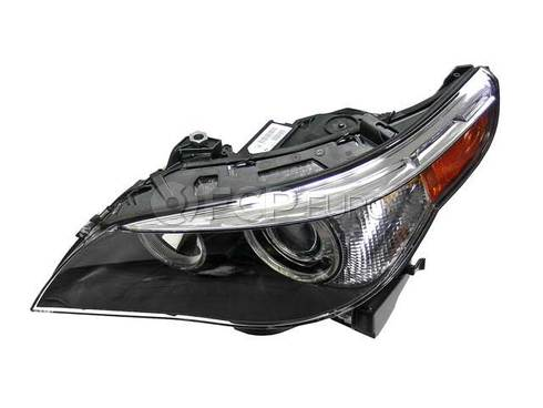 BMW Bi-Xenon Adaptive Headlight Assembly Left (E60 E61) - Genuine BMW 63127160157