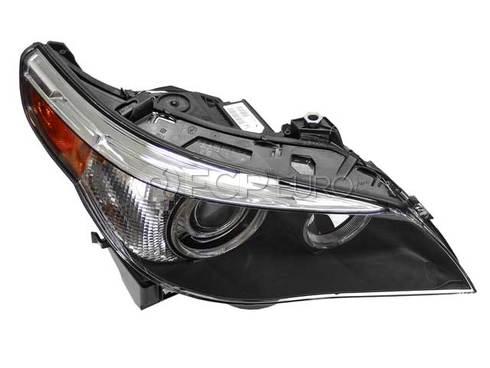 BMW Bi-Xenon Adaptive Headlight Assembly Right (E60 E61) - Genuine BMW 63127160158
