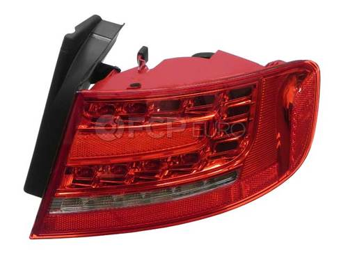 Audi Tail Light Assembly Right Outer (A4 S4) - Hella 8K5945096L