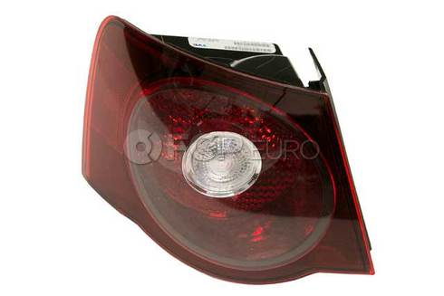 VW Tail Light Assembly Left Outer (Jetta) - Hella 1K5945095L