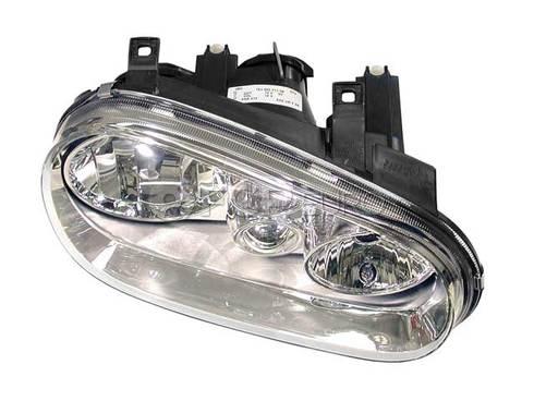 VW Headlight Assembly Right (Cabrio Golf) - Hella 1J0941018B