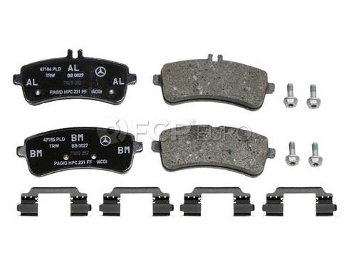 Mercedes Disc Brake Pad Rear (SL63 AMG SL65 AMG) - Genuine Mercedes 0064207020
