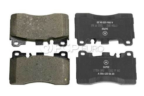Mercedes Disc Brake Pad Rear (E63 AMG SLS AMG CLS63 AMG CLS63 AMG S) - Genuine Mercedes 0074207220