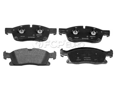 Mercedes Disc Brake Pad Front (ML350 GL350 GL450) - Genuine Mercedes 0074208120