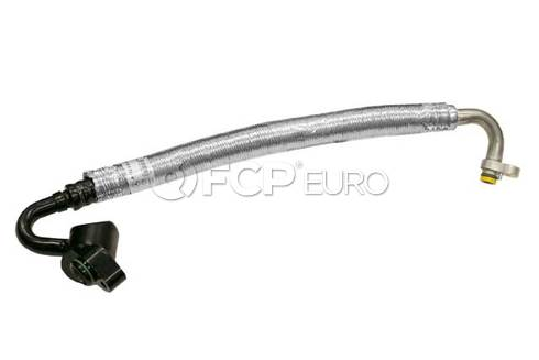 Mercedes A/C Refrigerant Suction Hose (C280 CLK320) - Genuine Mercedes 1122301356