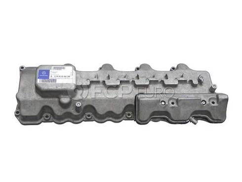 Mercedes Engine Valve Cover Right (SL500 CL55 AMG) - Genuine Mercedes 1130100430