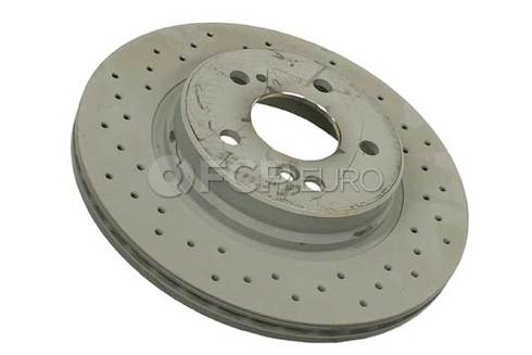Mercedes Brake Disc (SL500 SL600) - Genuine Mercedes 1294230512
