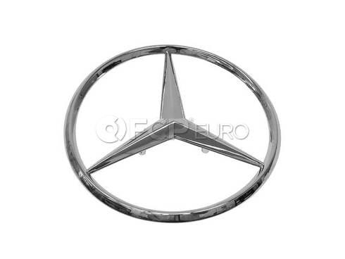 Mercedes Trunk Lid Emblem - Genuine Mercedes 2017580058