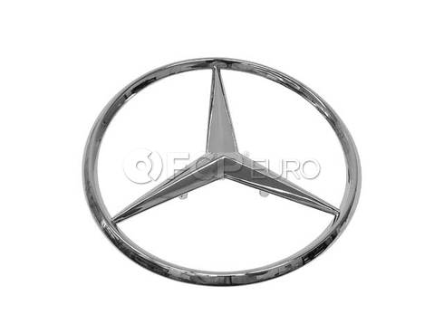 Mercedes Trunk Lid Emblem - Genuine Mercedes 2017580058