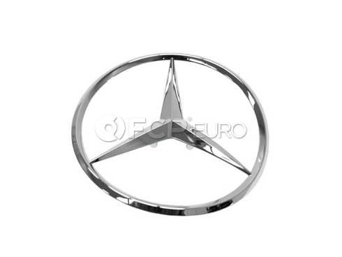 Mercedes Trunk Lid Emblem (C230 C280 C43 AMG) - Genuine Mercedes 2027580358
