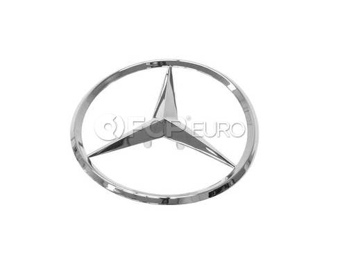 Mercedes Trunk Lid Emblem - Genuine Mercedes 1707580058