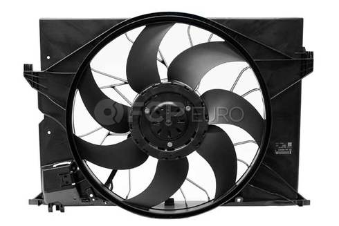 Mercedes Engine Cooling Fan Assembly (CL550) - Genuine Mercedes 2219066500
