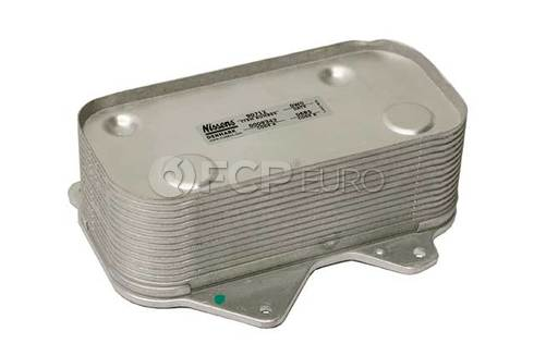 Audi VW Engine Oil Cooler - Nissens 077117021Q