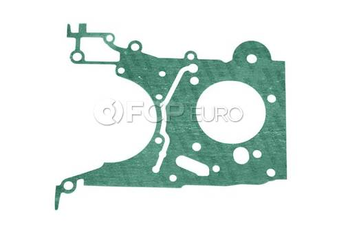 BMW Engine Timing Chain Case Gasket Lower (318i 318is) - Reinz 11141734422