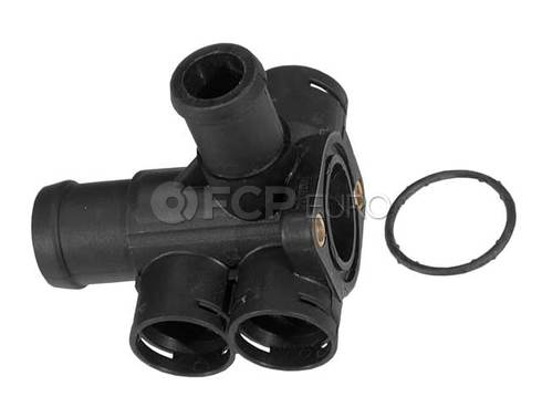 VW Engine Coolant Outlet Flange (Golf Jetta) - Genuine VW Audi 037121132B