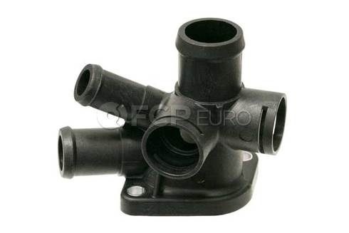 VW Engine Coolant Outlet Flange - Genuine VW Audi 037121144J