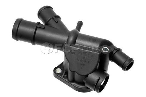 VW Audi Engine Coolant Inlet Flange (Jetta Golf Beetle) - Genuine VW Audi 03L121132Q