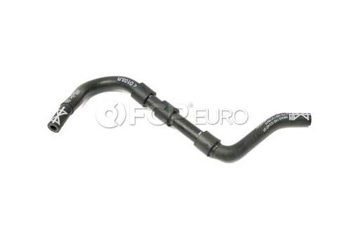 Audi VW Engine Coolant Recovery Tank Hose Upper (Jetta Golf Beetle) - Genuine VW Audi 1K0122447GR