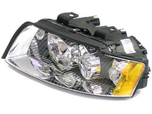 Audi Headlight Left (A4 A4 Quattro) - Genuine VW Audi 8E0941029K