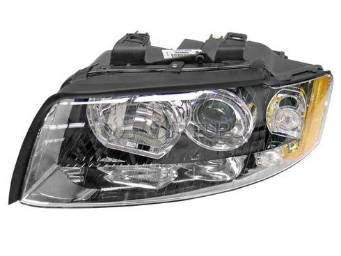 Audi Headlight Left (A4 A4 Quattro) - Genuine VW Audi 8E0941029S