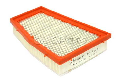 Audi Air Filter Left (RS5) - Genuine VW Audi 8T0133843A
