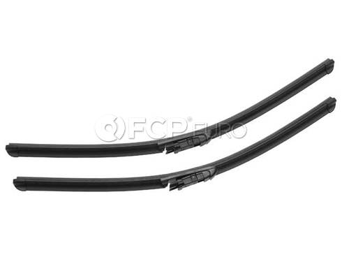 BMW Windshield Wiper Blade Set - Valeo OEM 61610431438