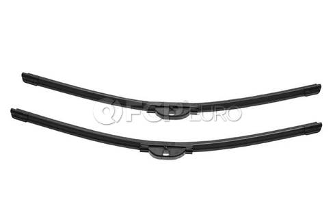 Mercedes Windshield Wiper Blade Set (A4 A4 Quattro S4) - Valeo OEM 2038201845