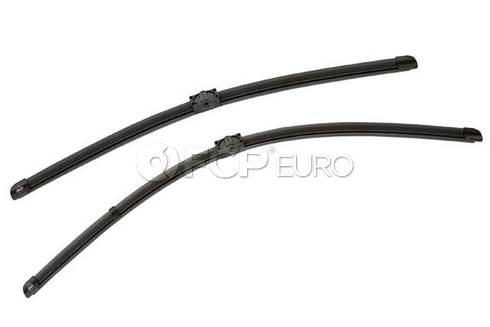 BMW Windshield Wiper Blade Set (E90 E91) - Valeo OEM 61610427668
