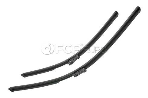 Mercedes Windshield Wiper Blade Set (GL320 GL450 ML550) - Valeo OEM 251820084564
