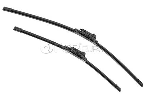 Audi VW Mercedes Windshield Wiper Blade Set - Valeo 574344