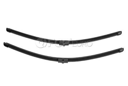 Audi Windshield Wiper Blade Set - Valeo OEM 574347
