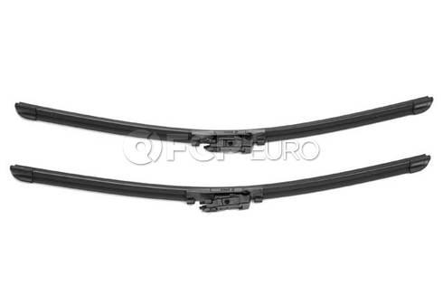 Audi Windshield Wiper Blade Set - Valeo OEM 574387