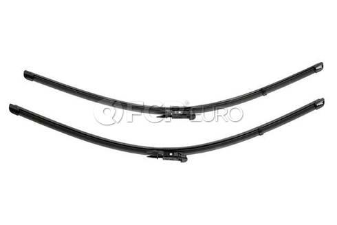 Audi Windshield Wiper Blade Set - Valeo OEM 574654