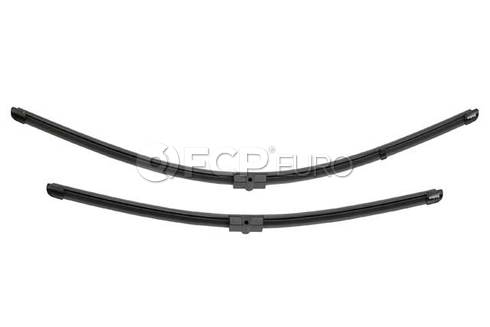 BMW Windshield Wiper Blade Set (X3 X4) - Valeo OEM 61612183576