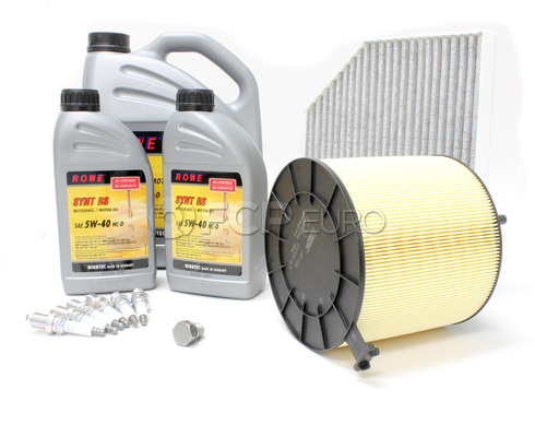 Audi 5W40 Synthetic Service Kit (B8 A4 3.2L) - Rowe/Mann 515650
