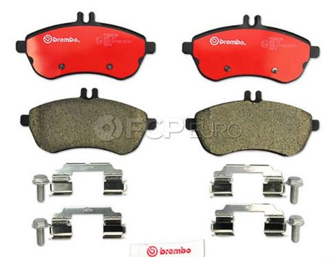 Mercedes Brake Pad Set - Brembo 0074205720