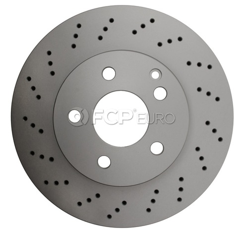 Mercedes Brake Disc - Genuine Mercedes 2044213612