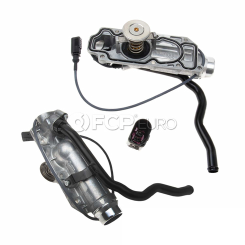 Audi Coolant Thermostat Housing - Genuine Audi VW 07D121111AN