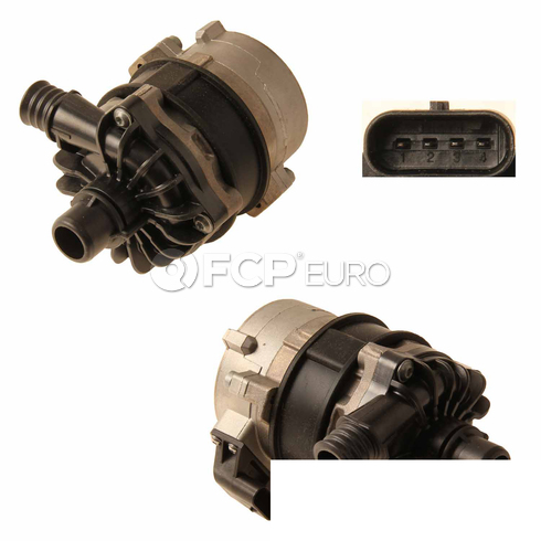 BMW Engine Auxiliary Water Pump (335i ActiveHybrid 3 335i xDrive) - Genuine BMW 11517583965