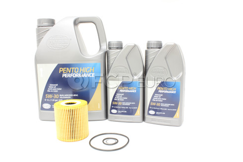Volvo Oil Change Kit 5W-30 (S80 XC90) -Pentosin KIT-P3V85W30SERVICE1V3