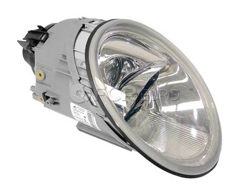 VW Headlight Left (Beetle) - Genuine VW Audi 1C0941029K