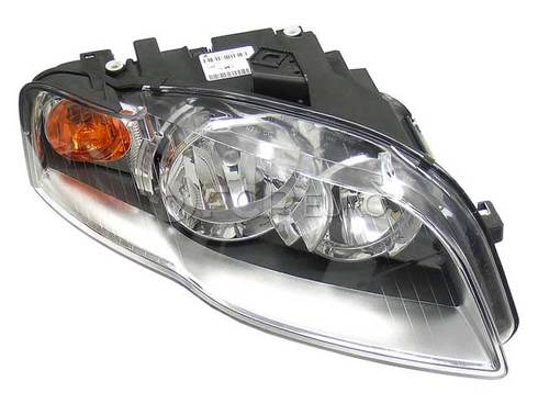 Audi Headlight Right (A4 Quattro A4 S4 RS4) - Genuine VW Audi 8E0941004AL