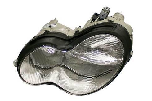 Mercedes Headlight Left (C230 C240 C32 AMG C320) - Genuine Mercedes 2038200961