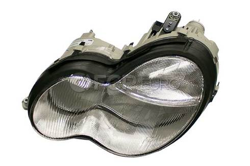 Mercedes Headlight Left (C230 C240 C32 AMG C320) - Genuine Mercedes 2038200961